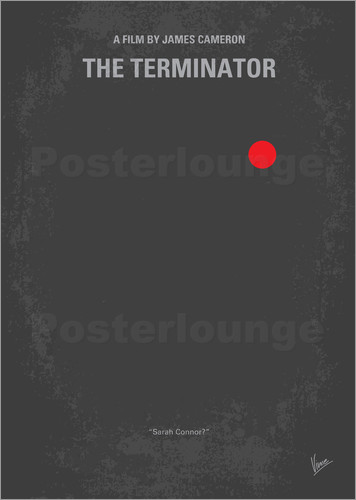 chungkong - No199 My Terminator minimal movie poster