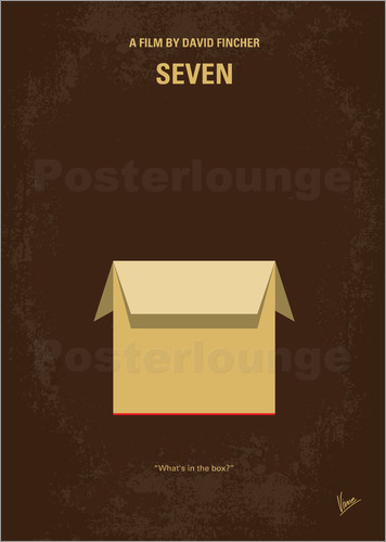 Poster No233 My Seven minimal movie poster