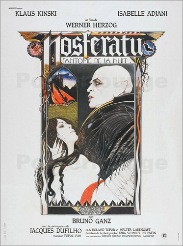 Nosferatu The Vampyre, French Poster