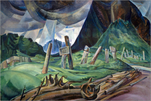 Emily Carr - Above the Gravel Pit