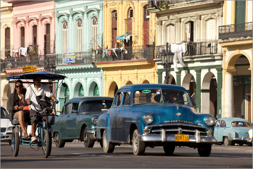Peter Schickert - classic us cars in havanna, cuba