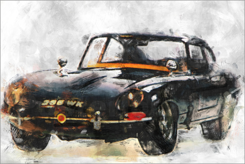 LoRo-Art - Oldtimer -black