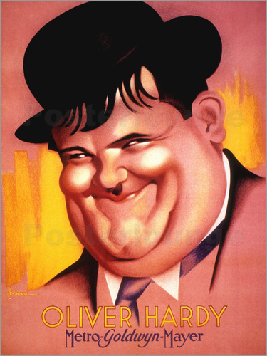 Poster Oliver Hardy