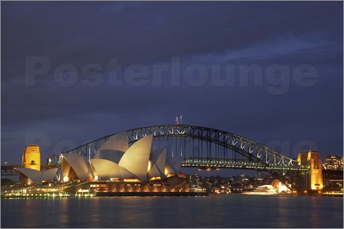 David Wall - Sydney Opera House and Harbour Bridge