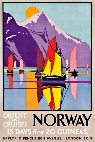 M.V. Jones - Orient Line Cruises Norway