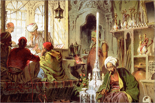 Poster Ottoman Coffee House