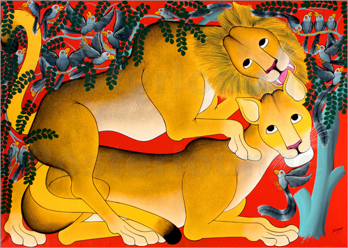 Omary - Mating with lions