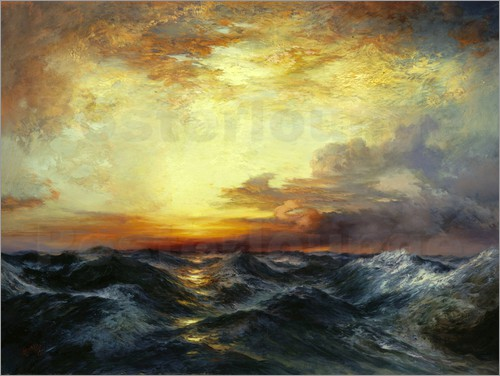 Thomas Moran - Pacific Sunset, 1907