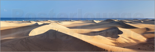 Markus Lange - Panorama of the sand dunes of Maspalomas