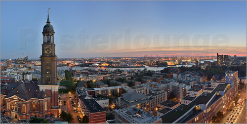 Fine Art Images - Panorama Hamburg