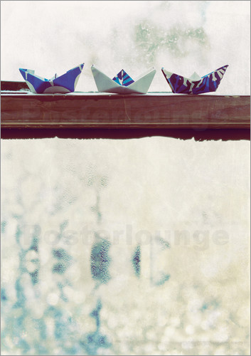 Poster Paper Boats
