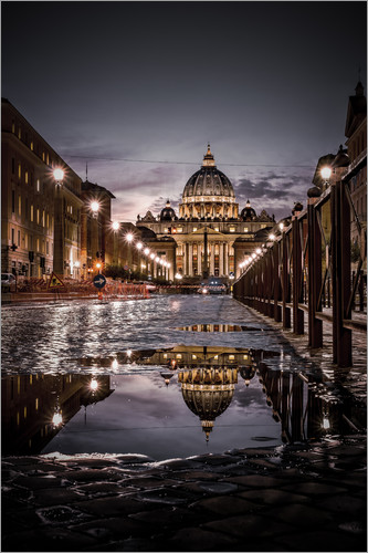 Poster St Peter's Basilica Rome