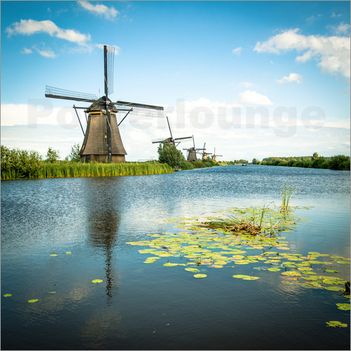 Hannes Cmarits - Picturesque Kinderdijk 1x1