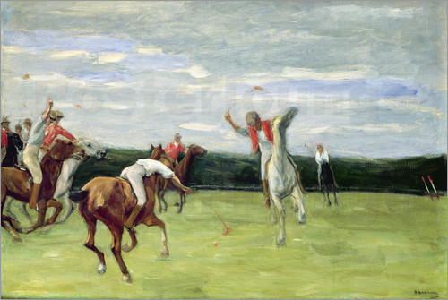 Max Liebermann - Polo players in Jenischpark