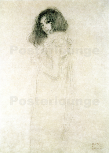 Poster Portrait of a young woman