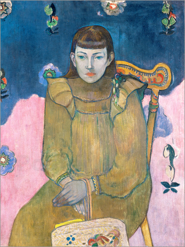 Paul Gauguin - Portrait of a young girl