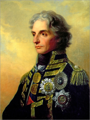 Friedrich Heinrich Fuger - Portrait of Lord Horatio Nelson