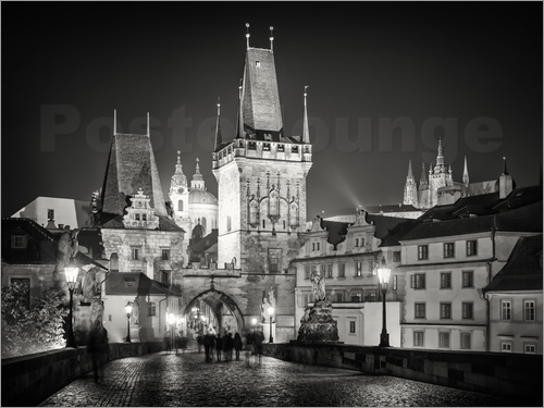 Poster Prague - Charles Bridge