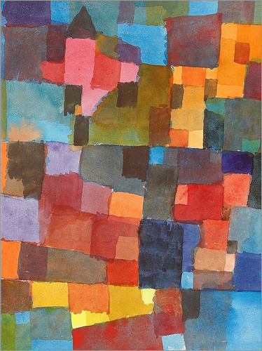 Paul Klee - space Architecture