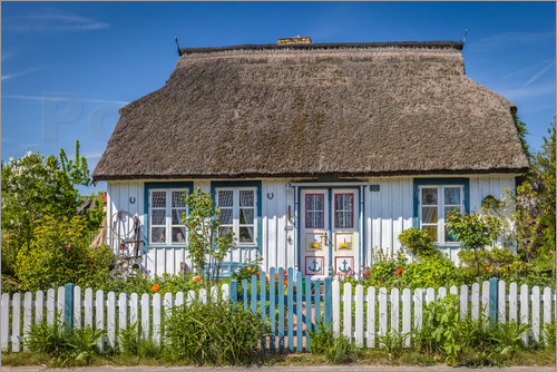 Christian Müringer - Thatched cottage on the Baltic Sea