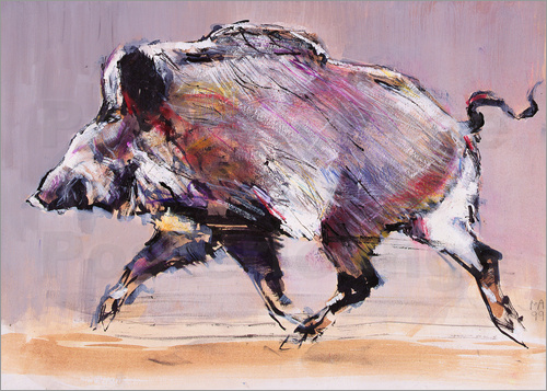 Mark Adlington - Running boar