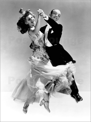 Poster Rita Hayworth and Fred Astaire