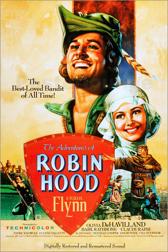 Poster The Adventures of Robin Hood