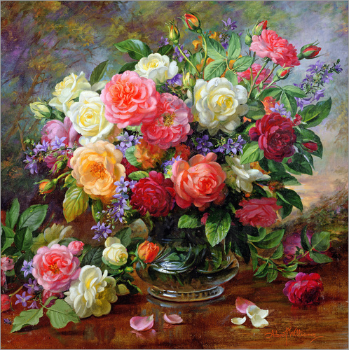 Albert Williams - Roses - The Perfection of Summer
