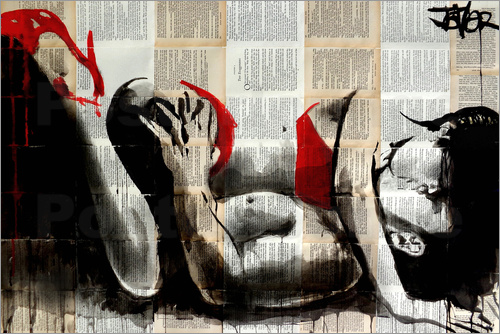 Loui Jover - lust in red