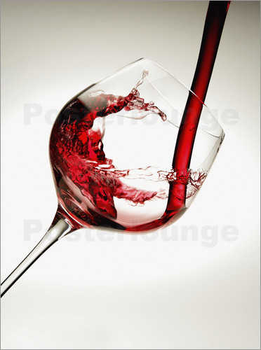 Richard Desmarais - Red wine in a glass