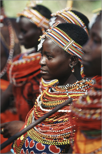 Adam Jones - Young Samburu girl