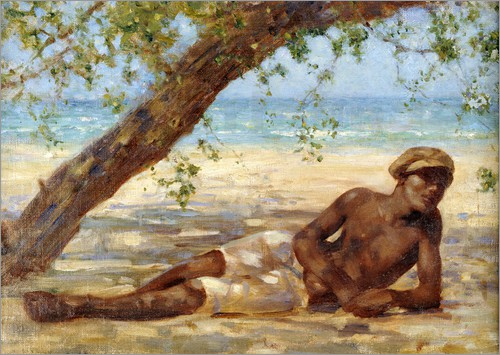 Henry Scott Tuke - Samuel under a Tree