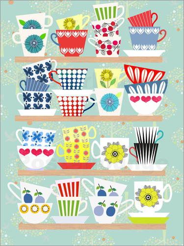 Poster Scandinavian Cups Collection