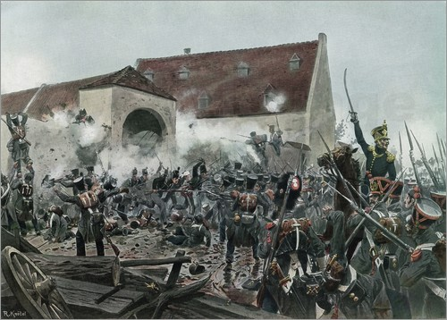 Richard Knötel - Battle of Waterloo 1815