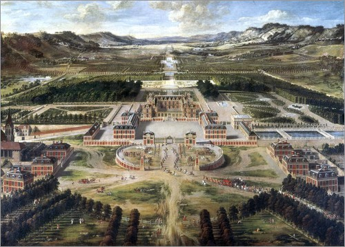 Pierre Patel - Chateau and gardens of Versailles
