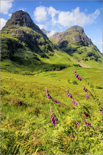 Poster Scotish Mountains