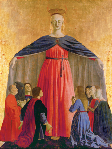 Piero della Francesca - The Madonna of the Protecting Cloak