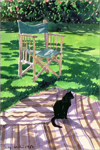 Lucy Willis - Black Cat and Dappling
