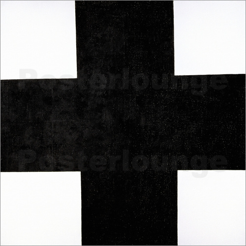 Poster Black Cross