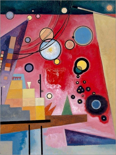 Wassily Kandinsky - Heavy Red