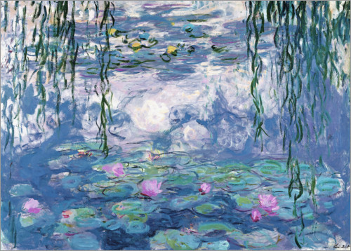 Poster Water Lilies