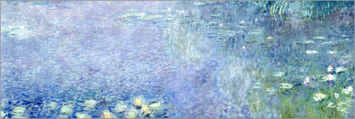 Poster Waterlilies image 2