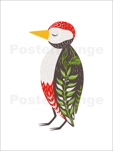 Kidz Collection - Be proud with me woodpecker