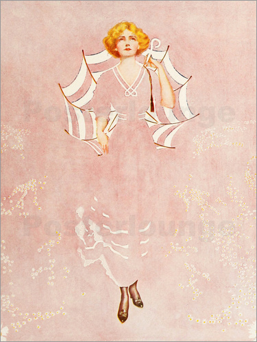 Clarence Coles Phillips - Even the daisies of the field