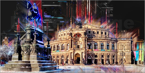 Peter Roder - Semperoper in Dresden