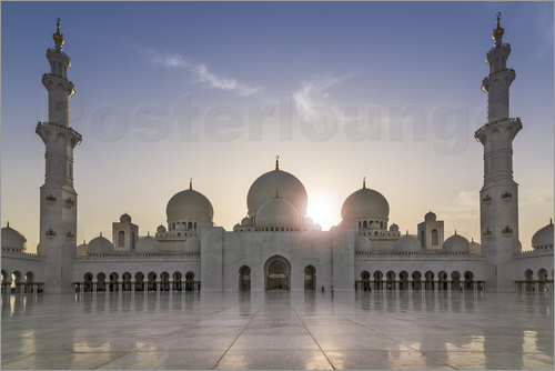 Poster Sheikh Zayed Mosque