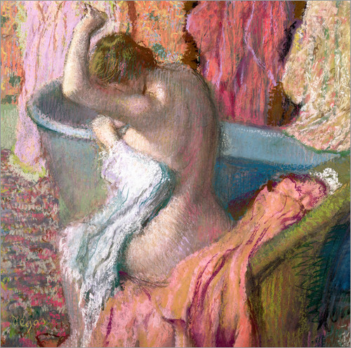 Poster Seated Bather