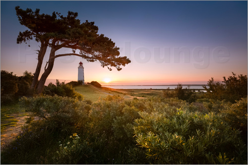 Kristian Goretzki - Sunrise at Lighthouse Dornbusch on Hiddensee