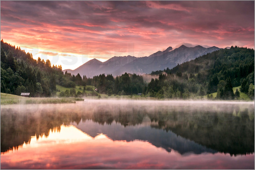 Andreas Wonisch - Sunrise in the Alps