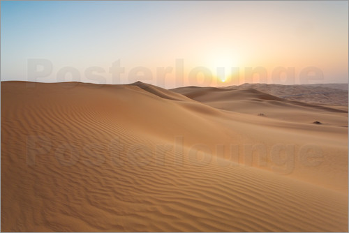 Matteo Colombo - Sunrise over sand dunes, empty quarter desert, Abu Dhabi, Emirates